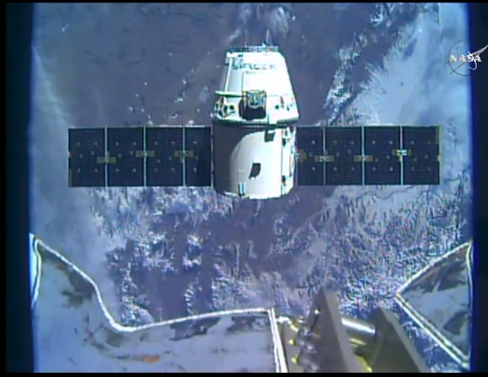 Spacex Ankunft Iss