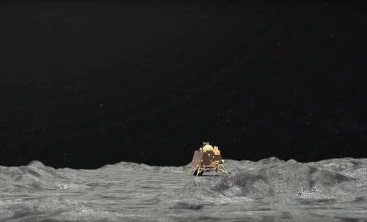 vikram-lander-on-moon